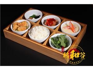 稻和谷中式快餐一份精致美食的诱惑