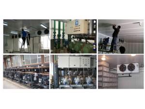 上海专业回收拆除 大型冷库冷库机组回收