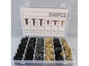 299PCS盒装卡扣汽车铆钉紧固件套装汽车门板内衬卡扣保险杠