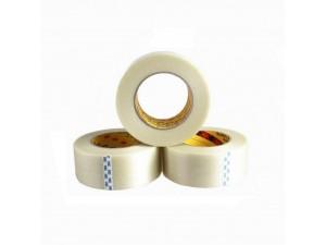3M898纤维胶带强力条纹胶带 无痕单面密封防水油墨测试胶带
