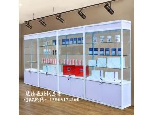 南京玻璃展柜定制