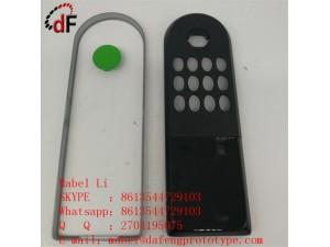 电子温控器外壳电源开关面板阻燃级塑料外盒数显仪表壳体定制加工