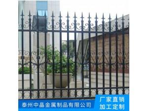 喷涂烤漆大气简单锌钢围墙护栏款式加工订做安装
