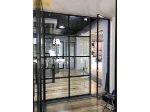 墨高门窗供应精致时尚的16极窄边玻璃推拉门