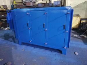 工厂废气处理活性炭吸附塔处理效果 设备工艺简介