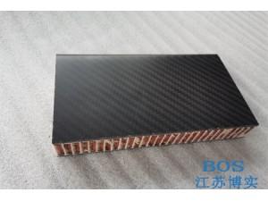 3k碳纤维蜂窝夹芯板加工芳纶芯铝蜂窝芯可定制