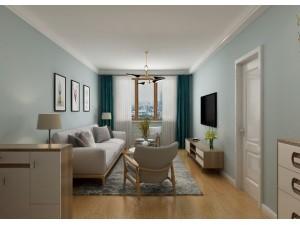 德杰状元府邸105平北欧极简风格装修,北欧风搭配极简等于绝配