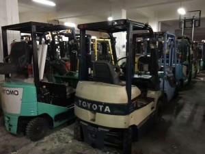 Toyota丰田电动叉车三支点电动叉车1.5吨