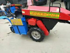 自走式单垄玉米收割机