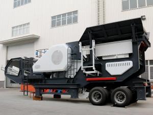 移动制砂机无故障高效率,产出高品质砂石