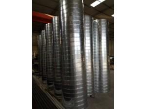 重庆铁皮风管加工厂专业通风管道螺旋管加工