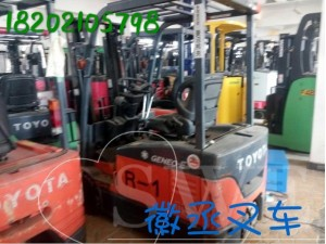 二手丰田1吨1.3吨1.5吨2吨三支点电动叉车前移式叉车