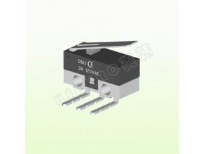 微动开关UK-E0524-YW/侧出端子微动开关-美韩电子
