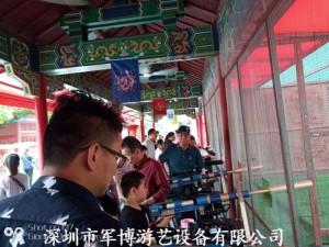 深圳战地游乐军事主题设备坦克营越野车射击体验馆项目投资加盟