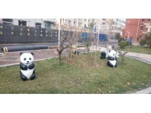 出租出售玻璃钢卡通模型熊猫