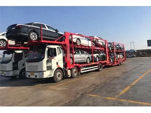 广州到沈阳小轿车托运公司海汌轿运专业笼车装载运输私家车至沈阳