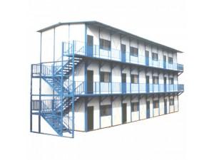 夹芯板双层活动K型房 节能环保简易房 拼装房