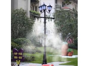 灯杆雾化 亮化 喷泉水景免费设计 施工一体化服务