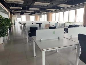长新大厦精装甲级写字楼170平可注册带办公家具出租