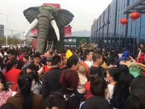 供应机械大象定制款,出租出售,商演活动利器