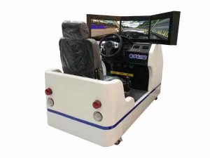开设学车之星驾驶模拟培训馆 自己开店当老板
