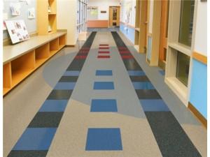PVC卷材地板 医院美容院装修地板