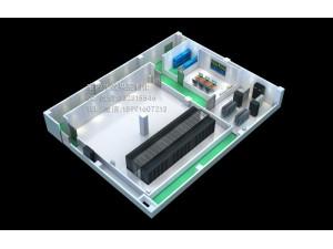 天津服务器机房效果图制作|疾控中心机房建设方案深化效果图