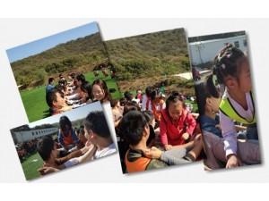 刘老师评价说:乐农湖畔组织武汉亲子游活动就是有一套
