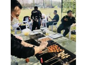 上海周边长兴岛春季团建拓展+林下烧烤+娱乐活动