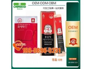 韩国红参饮品代加工贴牌厂,玫瑰阿胶肽加工
