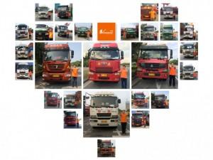 东莞港东莞码头拖车公司集装箱拖车吨车