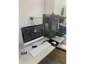 深圳氧化铝激光打标机手机后盖氧化层电镀镀膜厂家直销天策