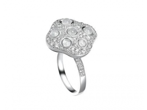 Qeelin戒指上的钻石掉了怎么办?