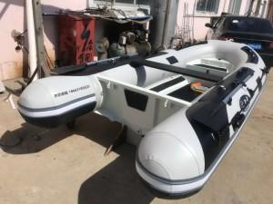 RAB铝合金快艇3.8米钓鱼艇冲锋舟