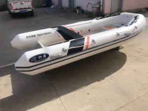 RAB铝合金快艇4.7米钓鱼艇冲锋舟