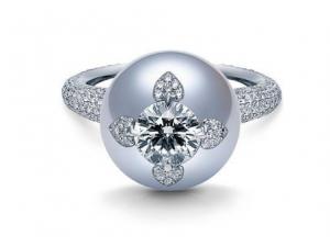 对于御木本戒指上的珍珠没了,怎么解决?