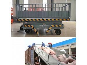 生產定做固定卸豬臺移動卸豬臺液壓裝卸臺電動升降臺