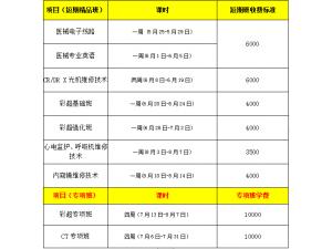 2020年西安彩虹医械维修技术培训开课时间5月25日