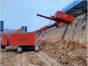 哪里有基坑支护钻机 护坡用履带式锚固钻机 液压锚固钻机