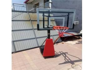 定制家用儿童篮球架 带轮可升降篮球架 户外青少年升降篮球架