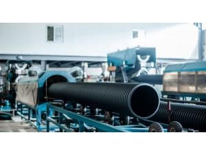 湖南生产厂家湖南天卓pe管道HDPE钢带增强螺旋波纹管