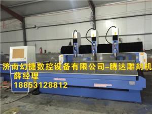 济南厂家直供  实木棺材雕刻机 棺材板专用雕花机