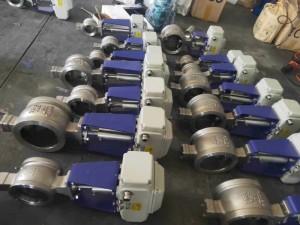 电动V型对接群球阀-电动v型调节阀批发销售