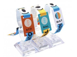 供应RFID编织腕带卡,感应织带腕带卡,腕带卡