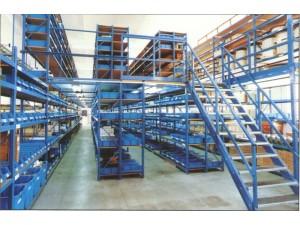 【荣勒】杭州阁楼货架,阁楼式货架平台,阁楼货架仓储