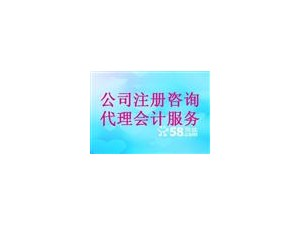 杭州工商注册财税咨询会计做账