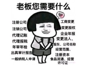 上海全区免费注册公司