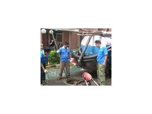 专业清掏化粪池疏通厕所厨房地漏下水道市政管网疏通