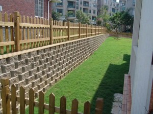 自嵌式挡土块-自嵌式挡土墙-植生挡土墙-加筋土挡土墙