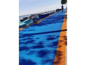彩色透水混凝土-荧光透水路面-露骨料透水混凝土